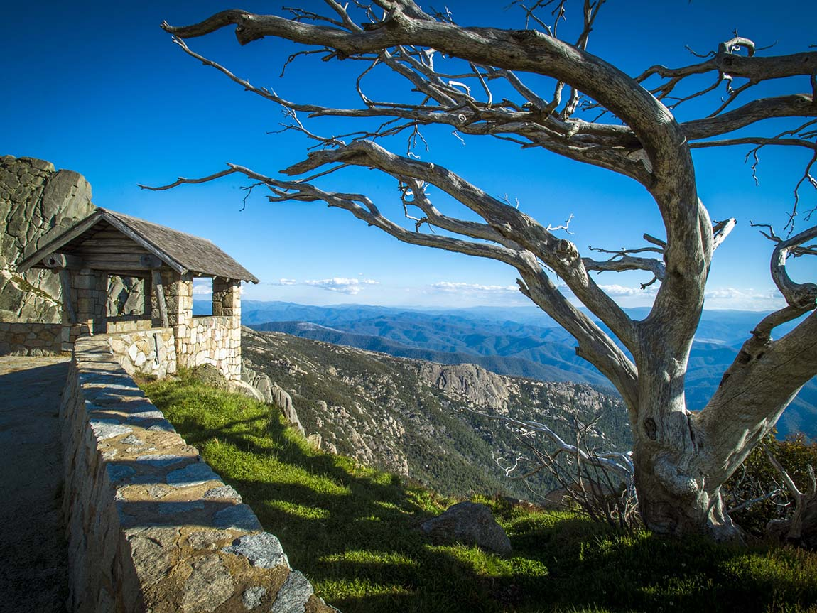 The Horn at Mount Buffalo, High Country, Victoria, Australia