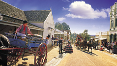 Sovereign Hill, Goldfields, Victoria, Australia