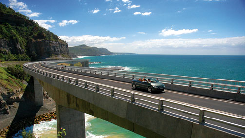 Grand Pacific Drive, New South Wales, Australien